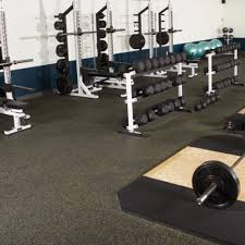 Exercise Floor by Rolled Rubber Flooring