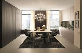 Stunning Gray Dining Room Rug Decoration Under White Table Feat Black Chair As Well