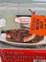 kalorien für schoko kirsch pudding kuchen schoko kirsch