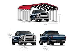 F150 Bed Dimensions by Dimensions Of A Carport Metal Carport Truck Suv Compact Car