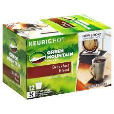 Green Mountain Pumpkin Spice K Cups Calories by Green Mountain Coffee Breakfast Blend Light Roast K Cups Coffee
