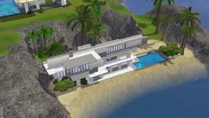 100 Modern Beach Home Sims 3 House Plans New Sims 3 By Ramborocky