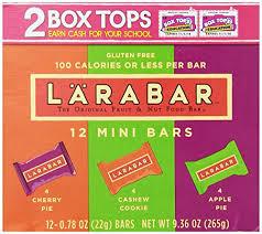 Larabar Gluten Free Fruit Nut Food Mini Bars