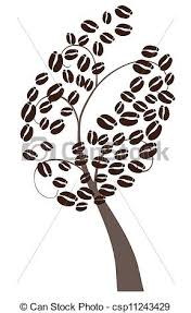 Vector Coffee Tree Illustration Search Clipart Drawings Rh Canstockphoto Com
