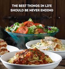 Never Ending Classics at Olive Garden Amex fer For Better Deal