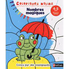 Nathan Coloriage Malin Nombres Magiques Moyenne Section Hourafr