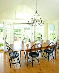 French Farmhouse Chandelier Country Amazing Black Dining Room Chandeliers