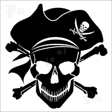 Pirate Silhouette Etsy