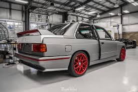E30 Convertible Floor Mats by Wrapped Up Matte Silver Bmw E30 M3 With Red Accents At Nwas