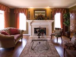 Living Room With Fireplace Design by Decorating Ideas For Fireplace Mantels And Walls Diy