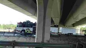 Blown Tire Causes Semi Crash With Lunch Truck On I-75 In Estero Sthbound I75 At I280 Now Open After Semi Truck Accident Serious Wreck On South I285 Youtube Semitruck Closes For Hours Live Semitruck Crash In Manatee County Florida July 20 One Dead Semitrailer Falls Off Crushes Vehicle Below Closed 212 Ogemaw Herald Ocala Post Daniel Loople Dies After Mangled Metal Mess On Semi Rolls Over Northbound Arenac Ipdent Removed Partially Haing Overpass Minivan Dragged 16 Miles Arending Trailer Amid Heavy Death The Highway Driver Saved By Witnses Fiery Crash Abc 36 News