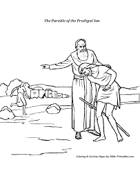 The Parables Of Jesus Coloring Pages