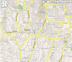 Google Map Kota Yogyakarta