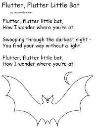Poems About Halloween For Kindergarten by 22 Best Bat Day Images On Pinterest 40 Years Bats And Fun Ideas
