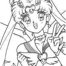 Bunny With A Nice Hat Sailor Moon The Heroine