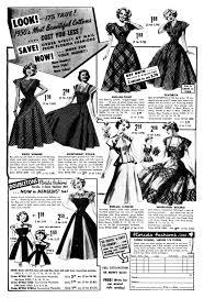 fashion history u2014women u0027s clothing of the 1950s bellatory