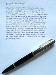 My Fountain Pen Education The Parker 51 Addict