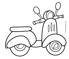 Perfect Transportation Coloring Pages 72 On For Adults With