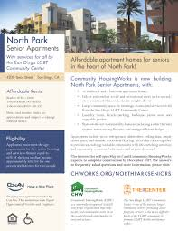 Cal Grant Income Ceiling 2014 by North Park Senior Apartments Community Housingworks