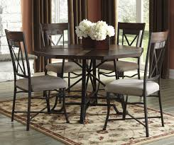 5 Piece Dining Room Set With Bench by Buy Ashley Furniture Vinasville Round Dining Room Table Set