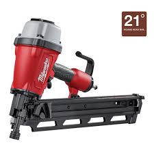 Home Depot Husky Floor Nailer by Milwaukee 3 1 2 In Full Round Head Framing Nailer 7200 20 The