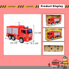 100 Fire Truck Accessories Nuheby Engine Toy Red Car Emergency Toy With Water