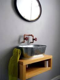 Diy Industrial Bathroom Mirror by Best 25 Industrial Bathroom Sinks Ideas On Pinterest Washroom