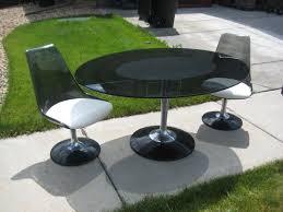 Chromcraft Dining Room Chairs by Thornton Moving Sale Retro Saarinen Chromcraft Tulip Dining