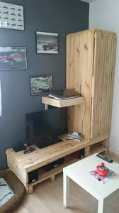 Modular Pallet TV Stand Ideas