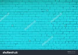 Bright Turquoise Color Background Foyer Staircase