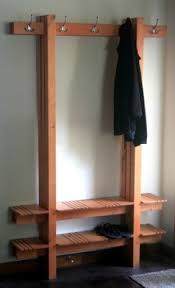 A Combination Coat Hat And Shoe Rack From Mark Love