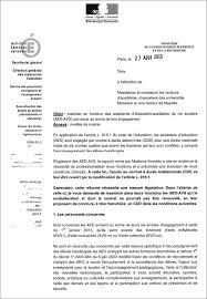 mail absence maladie bureau lettre de demission aed candidature spontanée 2018