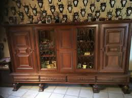 wohnzimmer schrank antik schöner alter schrank aus holz l2