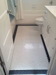 bathroom floor tile patterns with border white octagon floor tile
