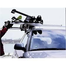 porte skis sur barres de toit thule xtender 739 pour 6 paires de