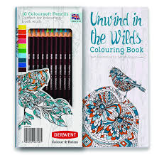 Amazon Adult Coloring Book And Colorsoft Colored Pencils Color Relax