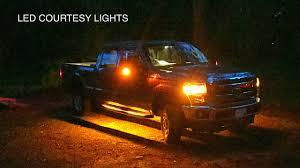 100 Running Lights For Trucks 20112016 F250 LED Board Courtesy Light Install YouTube