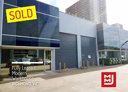 100 Melbourne Warehouse SOLD Savvy Investor Snaps Up Richmond Warehouse In Just 7