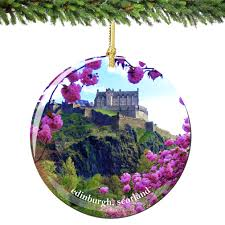 Amazoncom NEONBLOND Christmas Ornament Somebody In Glasgow Loves