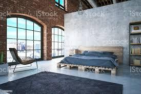 loft bedroom stock photo image now