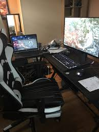 Got The Monitor Keyboard Desk Chair And Mouse. (Cumulative ... Your Keyboard And Mouse Are Filthy Heres How To Clean Them Best Gaming 2019 The Best Mice Available Today Cougar Deathfire Gaming Gear Combo Office Chair With Keyboard And Mouse Tray Computex Tesoro Updates Pipherals Displays Chairs Acer Reveals Monstrous Predator Thronos Chair Acers Is From A Future Where Have Lapboards Lapdesks Made For Pc Ign Original Fantech Gc 185 Alpha Gaming Chairs Top Of Line Durable Simple Yet Comfortable Suitable Home Usinternet Cafe Users Level 20 Rgb Cherry Mx Speed Silver Blackweb Starter Kit With Mousepad Headset Walmartcom
