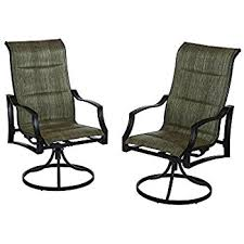 Amazon Statesville Swivel Patio Dining Chairs 2 Pack Cell