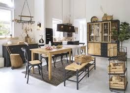 teppich aus baumwolle und jute in schwarz und kastanienbraun mit fischgrätmuster 140x200 maisons du monde