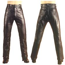 men u0027s leather motorcycle jeans