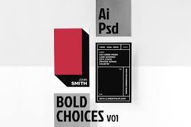 100 V01 Bold Choices Business Card V01