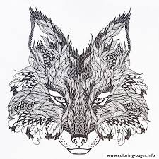Difficult Animals Coloring Pages For Adults 3