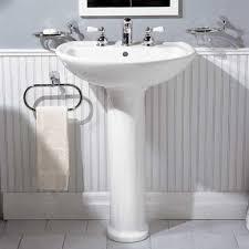 american standard cadet pedestal combo bathroom sink in white