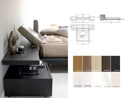 Italian Modern Platform Bed Italian Furniture High Gloss