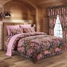 amazon com the woods pink camouflage twin 5pc premium luxury