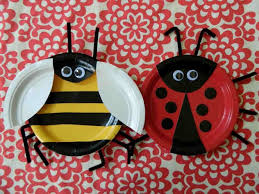 Easy Paper Plate Crafts Bugs Craft How To Make A Paper Plate